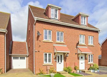 Thumbnail 4 bedroom semi-detached house for sale in Osborne Way, Rose Green