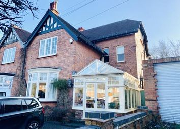Thumbnail 8 bed semi-detached house for sale in Church Road, Birmingham, West Midlands