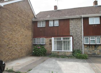 Thumbnail 3 bed terraced house to rent in Long Riding, Basildon