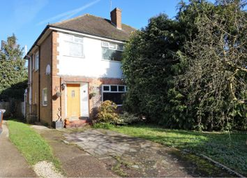 Thumbnail 3 bed semi-detached house for sale in Rutherford Way, Bushey Heath