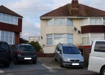 Thumbnail 3 bedroom semi-detached house for sale in Valleyside Road, Hastings