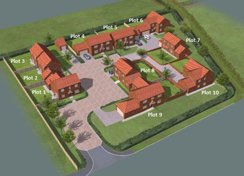 Thumbnail 3 bed detached house for sale in Ashfield Court, Everton Sluice Lane, Everton, Doncaster