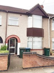 Thumbnail 3 bedroom terraced house to rent in Maudslay Road, Chapelfields, Coventry