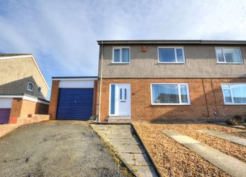 Thumbnail 3 bed semi-detached house for sale in Chapel Lands, Alnwick, Northumberland