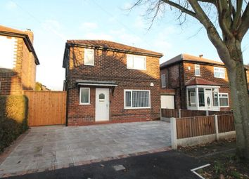 Thumbnail 3 bed detached house to rent in Broadoaks Road, Urmston, Manchester