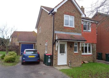 Thumbnail 3 bedroom detached house for sale in Aveling Close, Maidenbower, Crawley