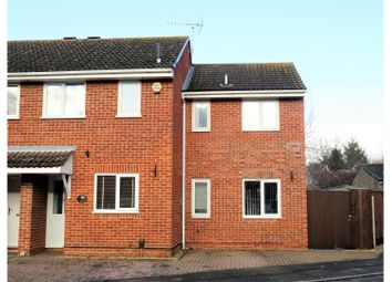Thumbnail 3 bed end terrace house for sale in Crescentdale, Longford, Gloucester