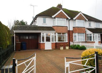 Thumbnail 3 bed semi-detached house to rent in Boverton Drive, Brockworth, Gloucester