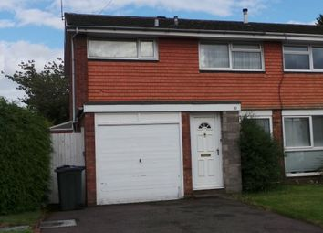 Thumbnail 3 bedroom semi-detached house for sale in Webster Close, Sutton Coldfield
