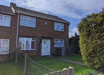 Thumbnail 3 bed end terrace house for sale in Hickling Close, Grantham