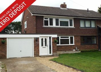 Thumbnail 3 bedroom semi-detached house to rent in Park Farm Avenue, Fareham