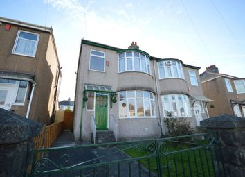 Thumbnail 3 bedroom semi-detached house for sale in Merrivale Road, Beacon Park, Plymouth