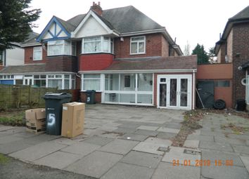 Thumbnail 3 bed semi-detached house to rent in Southbourne Avenue, Hodge Hill, Birmingham