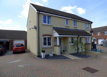 Thumbnail 3 bed semi-detached house for sale in Turnock Gardens, West Wick, Weston-Super-Mare