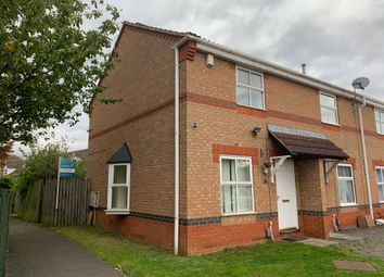 Thumbnail 2 bed end terrace house to rent in Rose Walk, Scunthorpe