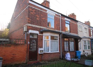 Thumbnail 2 bed terraced house for sale in Pavilion Crescent, Worthing Street, Hull