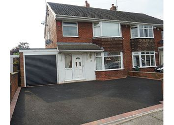 Thumbnail 3 bed semi-detached house for sale in Applewood Crescent, Stoke-On-Trent