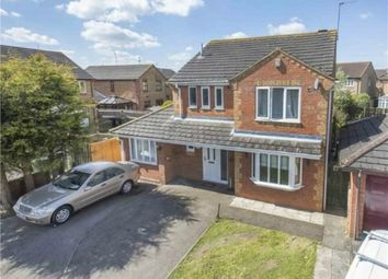 Thumbnail 5 bed detached house for sale in Sherwood Close, Corby, Northamptonshire