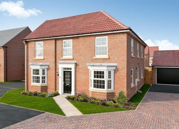 "Thumbnail 4 bed detached house for sale in ""Eden"" at Forest House Lane, Leicester Forest East, Leicester"