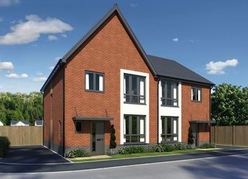 "Thumbnail 3 bed semi-detached house for sale in ""Ebbw"" at Llantrisant Road, Cardiff"