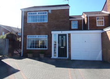 Thumbnail Semi-detached house for sale in Bonchester Close, Bedlington