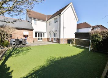 Thumbnail 4 bed detached house for sale in Walter Mead Close, Ongar, Essex