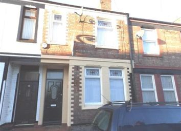 Thumbnail 3 bed terraced house to rent in Lees Avenue, Birkenhead
