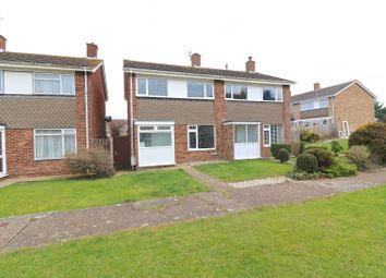 Thumbnail 3 bed semi-detached house for sale in Oxendean Gardens, Eastbourne