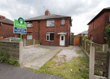 Thumbnail 3 bedroom semi-detached house for sale in Exeter Avenue, Tonge Moor, Bolton