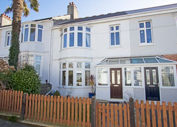 Thumbnail 3 bed terraced house for sale in Glenwood Road, Mannamead, Plymouth