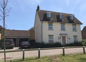 Thumbnail 5 bedroom detached house for sale in Quail Close, Stowmarket