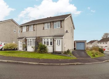 Thumbnail 3 bed semi-detached house for sale in Ty Gwyn Drive, Brackla, Bridgend, Bridgend County.