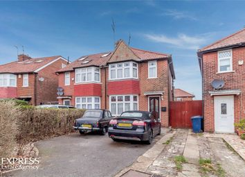Thumbnail 3 bed semi-detached house for sale in Cleveland Gardens, London