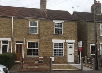 Thumbnail 2 bed end terrace house for sale in Elwyn Road, March