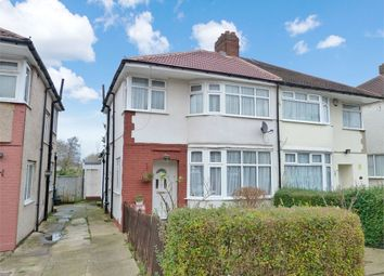 Thumbnail 4 bed semi-detached house for sale in Arundel Drive, Harrow, Middlesex