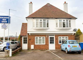 Thumbnail 2 bedroom flat to rent in Top Floor Flat, 160 Staplehurst Road, Sittingbourne