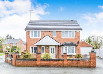 Thumbnail 4 bed detached house for sale in Willowcroft Rise, Blythe Bridge, Stoke-On-Trent