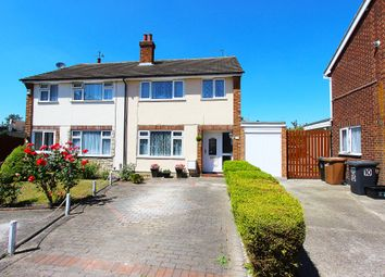Thumbnail 3 bed semi-detached house for sale in Greenbanks, Dartford, Kent