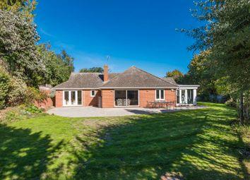 Thumbnail 4 bed detached bungalow for sale in Hardwick Lane, Bury St. Edmunds