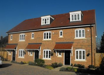 Thumbnail 4 bed terraced house to rent in Dunnell Close, Sunbury-On-Thames
