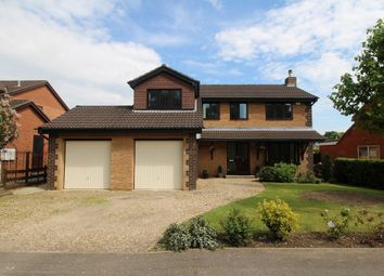 Thumbnail 4 bed detached house to rent in Hazelwood Drive, Gonerby Hill Foot, Grantham