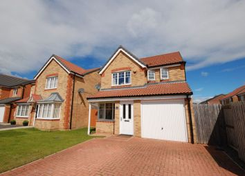Thumbnail 3 bed detached house for sale in Alnmouth Avenue, Ashington