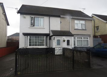 Thumbnail 2 bedroom semi-detached house for sale in Taymuir Road, Tremorfa, Cardiff