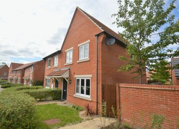 Thumbnail 3 bed end terrace house for sale in Walnut Lane, Didcot