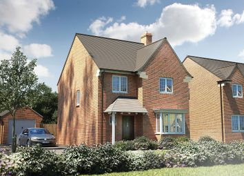 "Thumbnail 4 bed detached house for sale in ""The Titchfield"" at Roman Road, Bobblestock, Hereford"