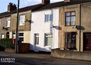 Thumbnail 2 bed terraced house for sale in Belvoir Road, Coalville, Leicestershire