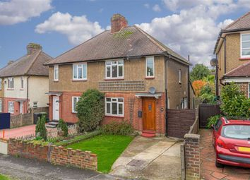 Thumbnail 3 bed semi-detached house for sale in The Crescent, Epsom, Surrey