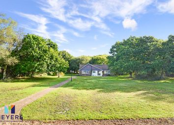 Thumbnail 4 bed detached bungalow for sale in Holme Lane, East Stoke BH20.