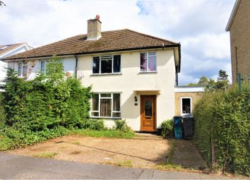 Thumbnail 3 bed end terrace house for sale in Homestead Way, Croydon