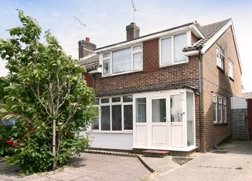 Thumbnail 3 bed semi-detached house for sale in Copse View, East Preston, Littlehampton